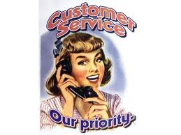Customer service old