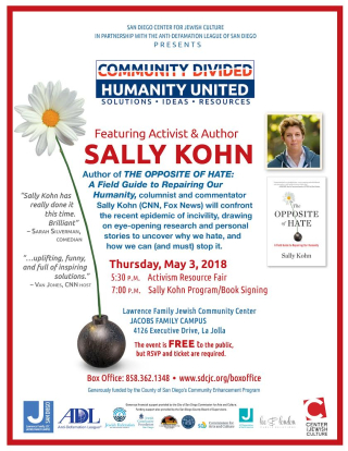 Sally Kohn Flyer